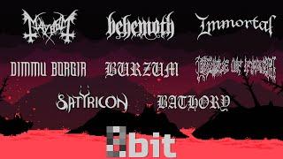 Black Metal bands in 8-bit (NES/Famicom)