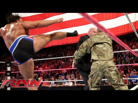 Big E vs. Rusev: Raw, Oct. 20, 2014