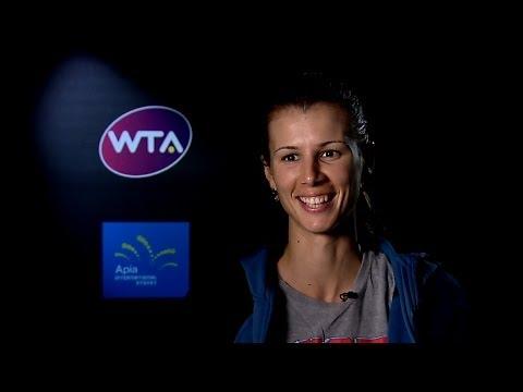 Tsvetana Pironkova 2014 Apia International Sydney QF Interview