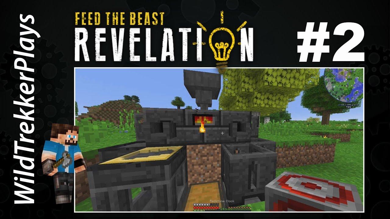 FTB Revelation - ep8 - Ore Doubling & Smeltery (Modded Minecraft 8.88.8)