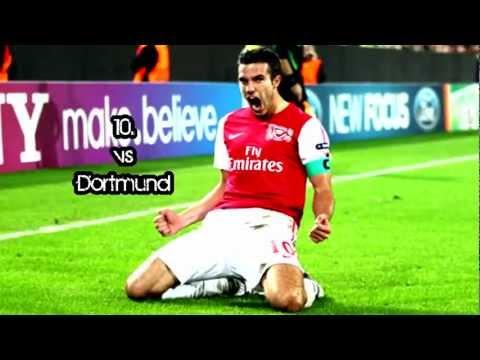 Robin van Persie - Top 10 Goals ~ 2011/12