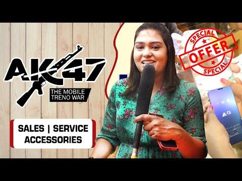 AK 47 Show Room-ல் அசத்தல் Shopping செய்த Adithya TV VJ அகல்யா.! | Mobile Accessories | Laptop | HD