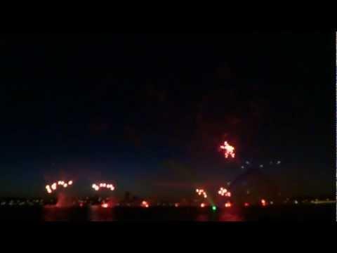 Australia Day Skyworks 2013 @ Perth