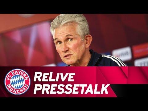 LIVE 🔴 | FC Bayern-Pressetalk mit Jupp Heynckes vor FC Augsburg
