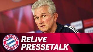 ReLive | FC Bayern-Pressetalk w/ Jupp Heynckes ahead of FC Augsburg