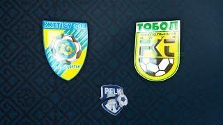 Zhetysu Taldykorgan vs Tobol Kostanay full match