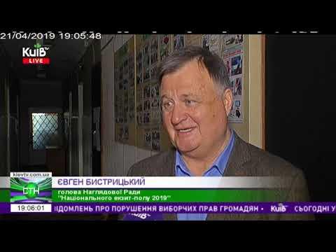 Телеканал Київ: 21.04.19 Столичні телевізійні новини 19.00