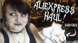 ALIEXPRESS HAUL!! Feat. Sandwich