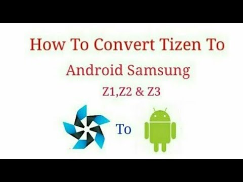 How to make full android samsung z1 part 2