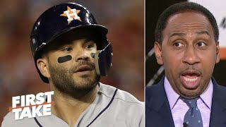'It's a wrap, it's over!' - Stephen A. predicts the Astros win the World Series | First Take