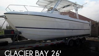 Used 2003 Glacier Bay 26 CC Canyon Runner for sale in Violet, Louisiana