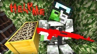 Он держался как мог [ЧАСТЬ 47] Зомби апокалипсис в майнкрафт! - (Minecraft - Сериал)