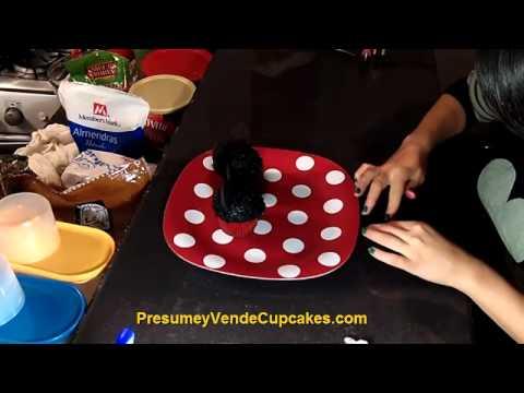 Cómo Decorar Cupcakes De Mickey y Minie Mouse