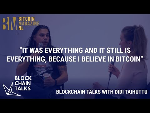 Didi Taihuttu: I sold my house, cars and company to purchase Bitcoin.