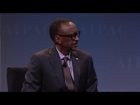 Rwandan President Paul Kagame Interview