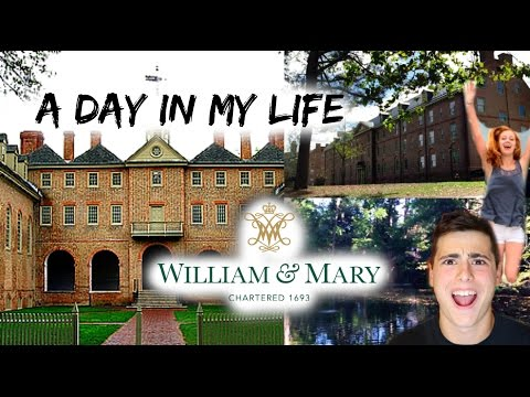 Day in My Life - William & Mary!