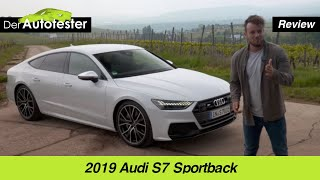 Unterwegs im 2019 Audi S7 Sportback (349 PS) im Rheingau ⛰ | Fahrbericht | Review | POV | Test-Drive