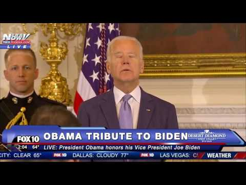 SO EMOTIONAL: Obama SURPRISES a CRYING Joe Biden With Medal of Freedom
