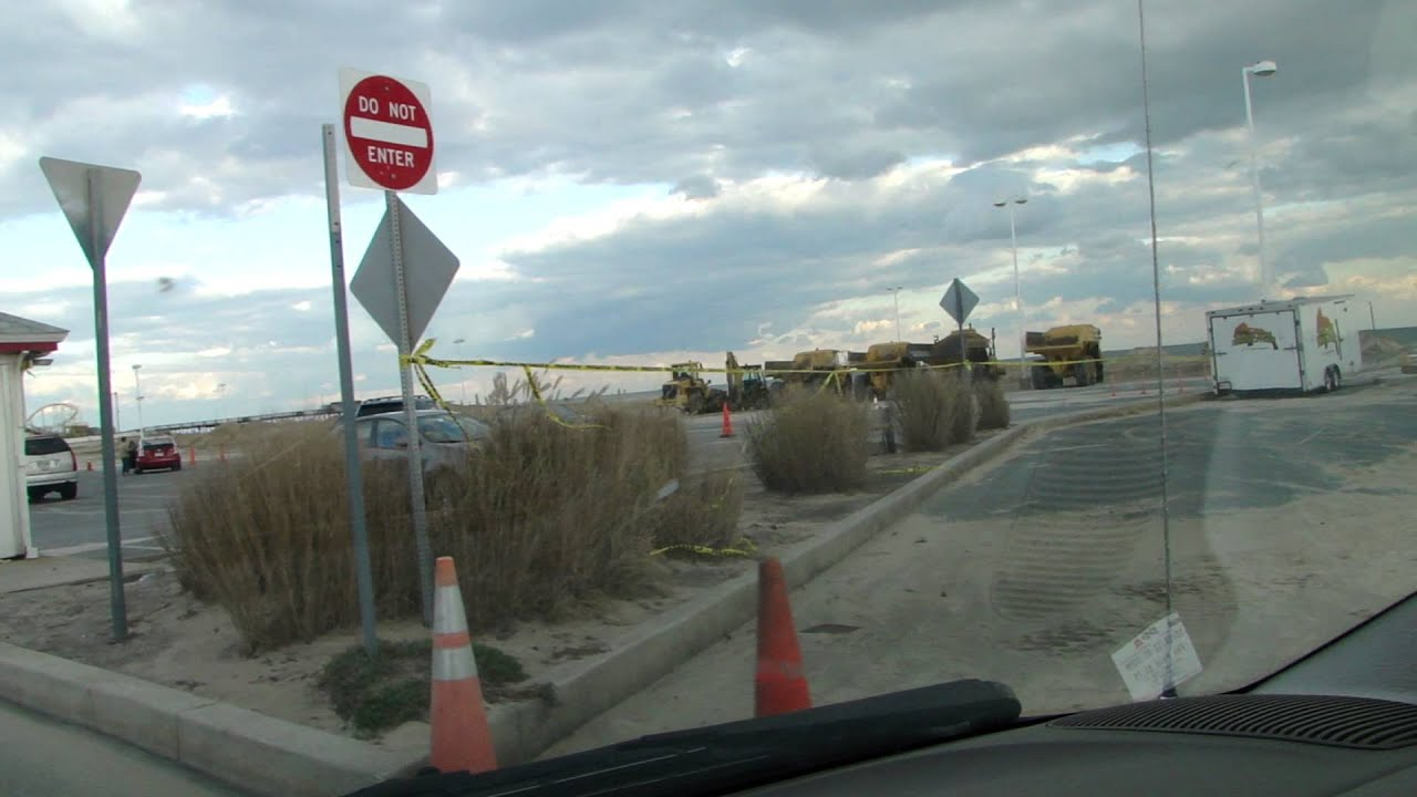 Photos of ocean city md during sandy 1