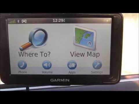 Garmin Nuvi 2595LMT GPS Unboxing & Test -- Command the GPS with Your Voice!!! -- Part 2
