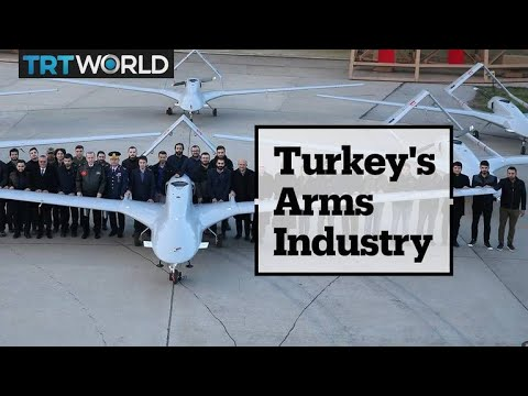 Turkey's position in the global arms industry