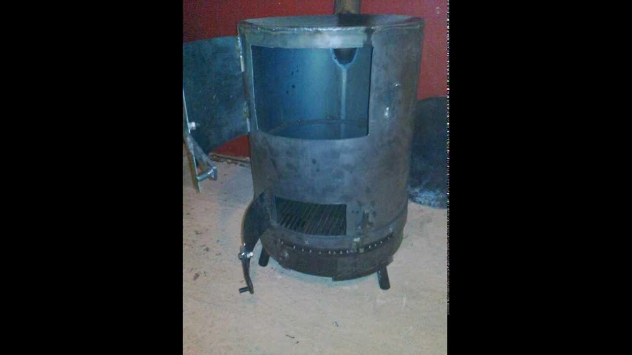 Chubasqui estufa de le a casera youtube - Como hacer una cocina de lena ...