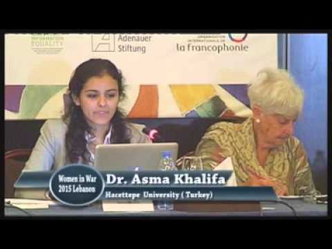 6  Women in War Annual  Conference, Beirut, June  2015 (2 sessions)
