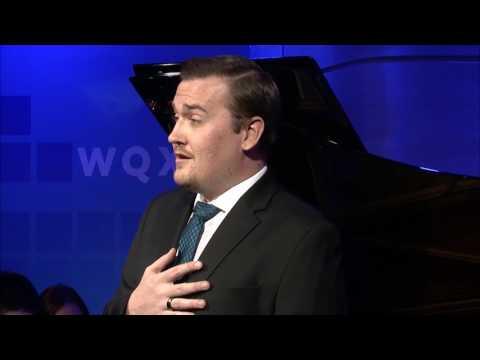 Miles Mykkanen sings Schubert: Ganymed, D. 544