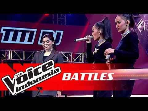 "Keisha vs Nada & Nadya ""New Rules""   Battles   The Voice Indonesia GTV 2018"