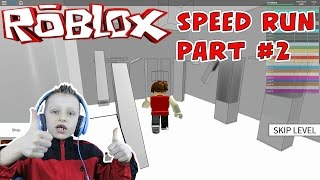 Roblox: Speed Run 4 - part #2 Let's play Roblox | Kid Gaming