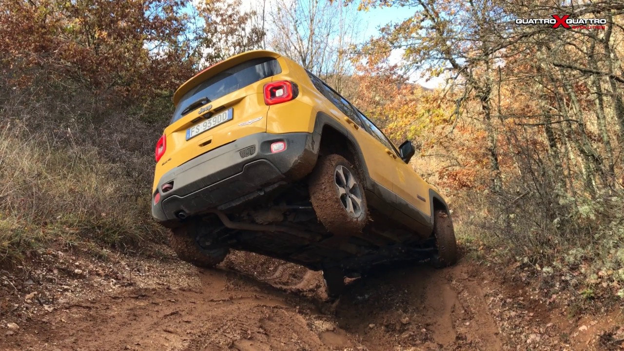 Jeep Renegade Trailhawk 2019 - YouTube
