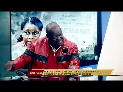 Nehawus December Mavuso On Public Sector Wage Agreement Youtube