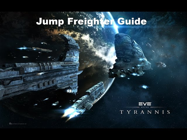 EVE Online: Jump Freighter and Cyno Guide 1/3 [GER]