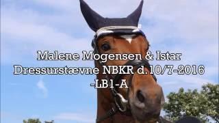 Dressurstævne d.10/7-2016 NBKR  LB1-A - *Malene Mogensen - Kampen mod drømmen*