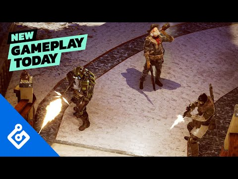 Wasteland 3 – New Gameplay Today