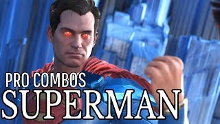 Injustice 2 - Superman - Master Combo Guide - Easy to Advanced