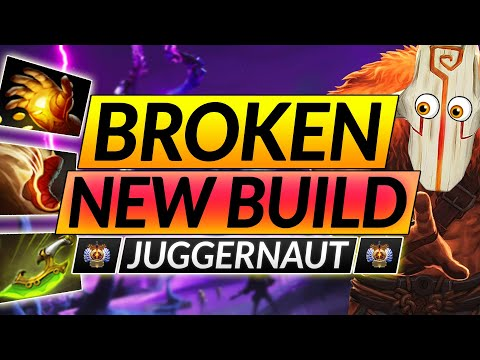 The ONLY WAY to PLAY JUGGERNAUT - NEW BROKEN BUILD to DOMINATE - Dota 2 Hero Guide
