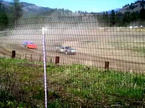 Eagle Track Raceway Street Stock Trophy Dash May 2nd 2015