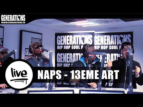 """Naps / 13ème Art Live """"Piste Blanche"""" (Live des studios de Generations)"""