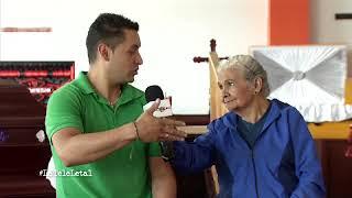 Nota Doña Anciana ataúd - La Tele Letal
