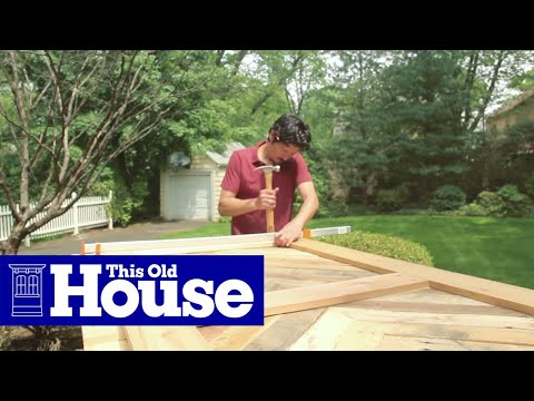 how to build a sliding barn door this old house