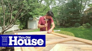 How to Build a Sliding Barn Door | This Old House