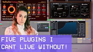 Five Plugins I Can't Live Without! #ableton #soundtoys #kilohearts