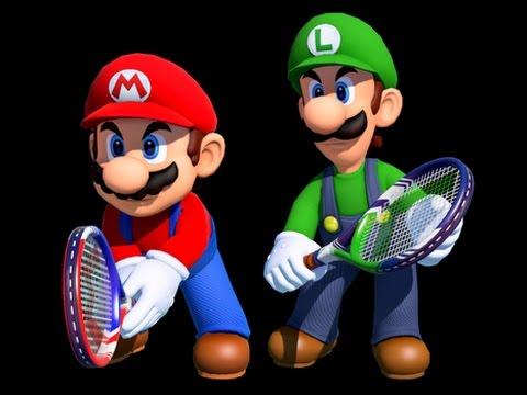 Mario Tennis: Ultra Smash - Knockout Challenge & End Credits (With Amiibo)