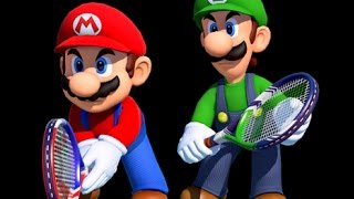 Mario Tennis: Ultra Smash - Knockout Challenge & End Credits (With Amiibo)