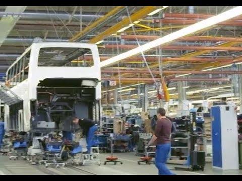 Beginilah Pabrik SCANIA Group Proses Pembuatan Bus Scania Intelerik