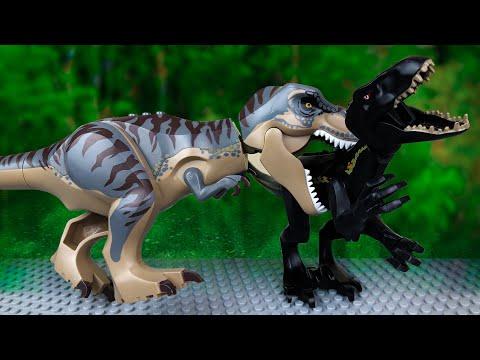 Динозавры против Дино Робота 🔴 ЛЕГО Мультик 🦖 Мир юрского периода