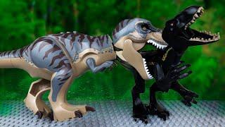 Динозавры против Дино Робота ЛЕГО Мультик Мир юрского периода