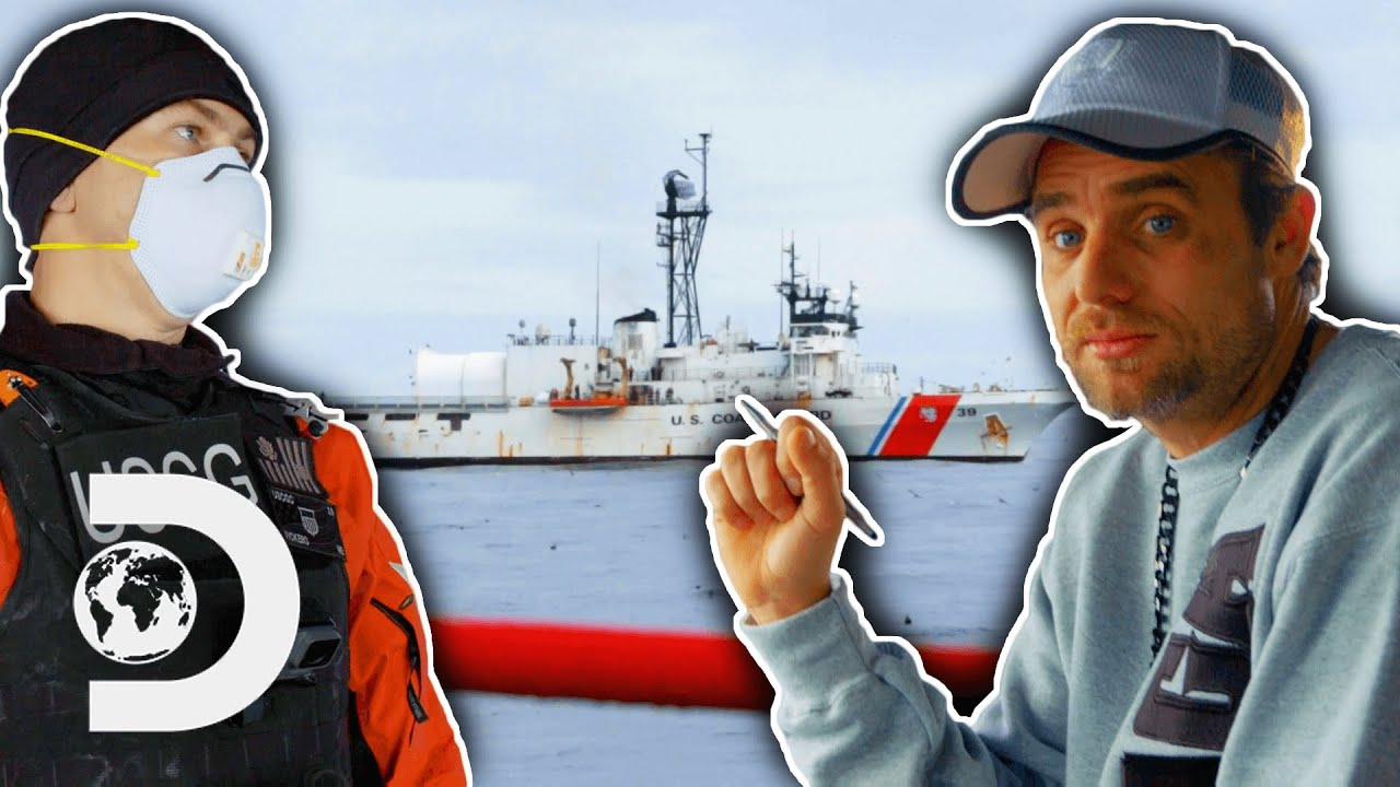 Download The Saga Gets Boarded By The Coastguard After They Lose A Liferaft | Deadliest Catch