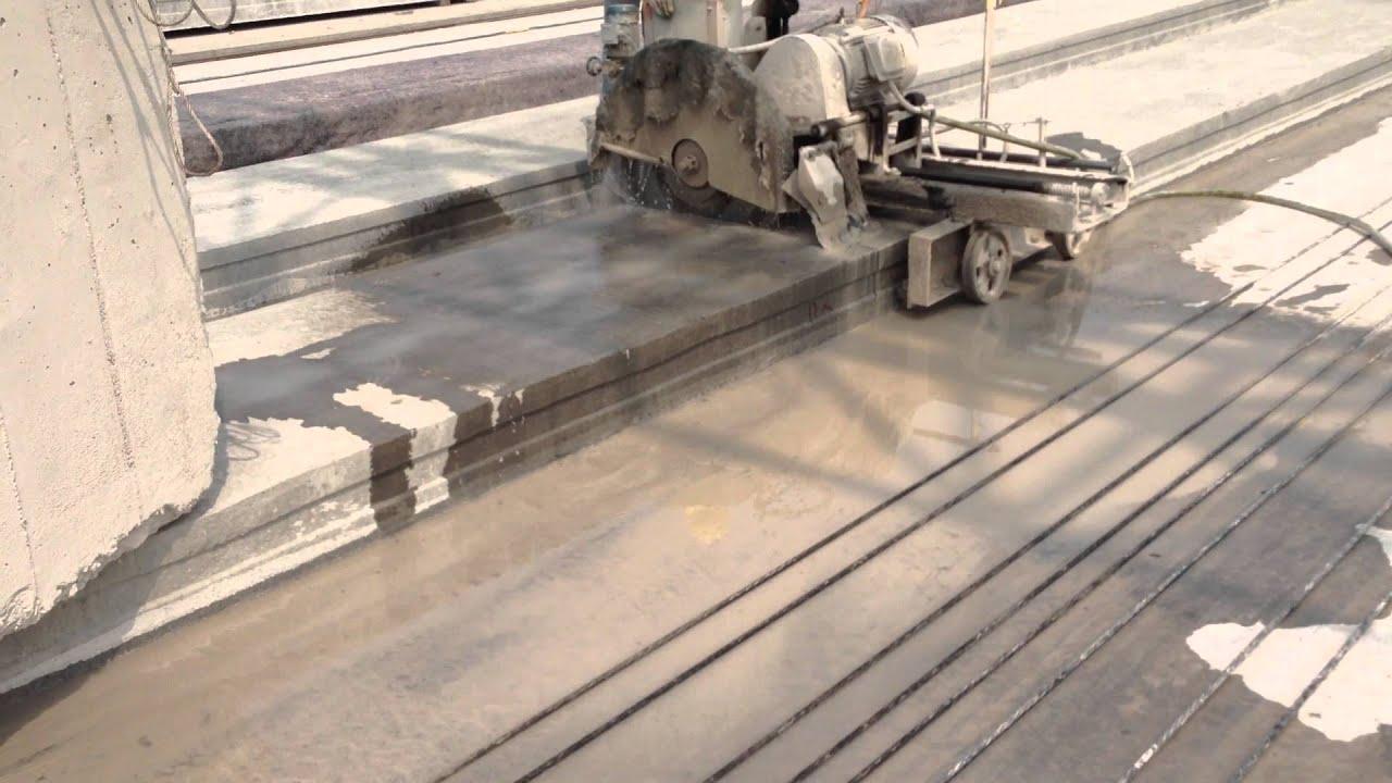 Precast Concrete Planks : Video of precast pre stressed hollow core concrete planks